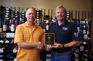 Tony Fardell-Art Audett Award 2015